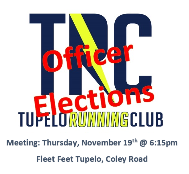November 2020 TRC Member Meeting – Officer Elections