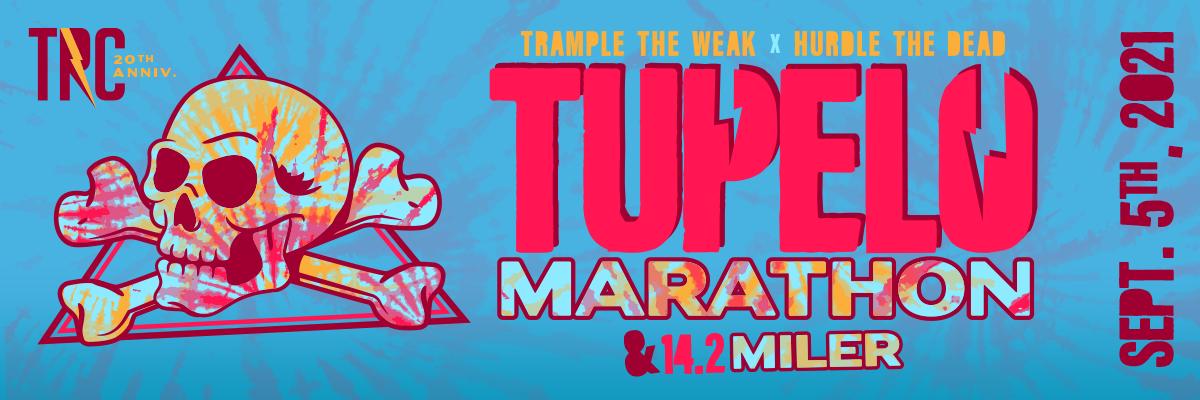 TUPELO MARATHON/14.2 MILER – Sept 5, 2021